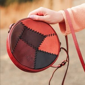 Patricia Nash leather round purse
